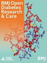 BMJ Open Diabetes Research & Care: 5 (1)